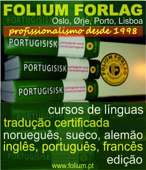 panfleto tradução e cursos Folium Forlag