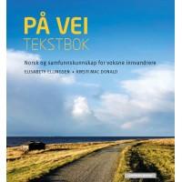 På vei Tekstbok  (livro de leitura) - curso de norueguês para estrangeiros (o curso está dividido em 2 níveis: A1 e A2)